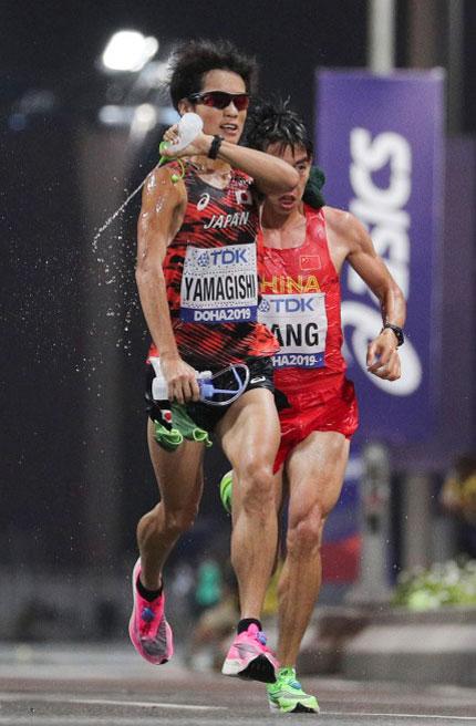 世界陸上選手権2019のマラソン中継