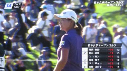 日本女子オープンゴルフ2019