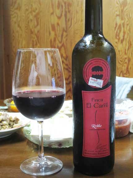 スペインワインFinca El Carril