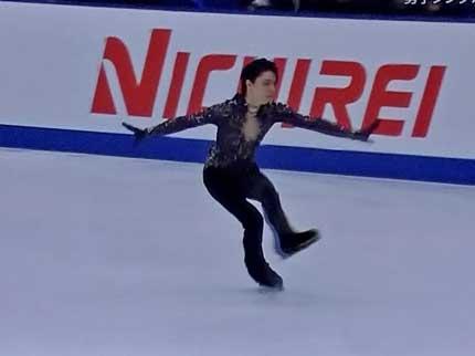 NHK杯国際フィギュアスケート男子フリー