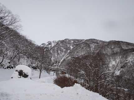 妙高市の山間部