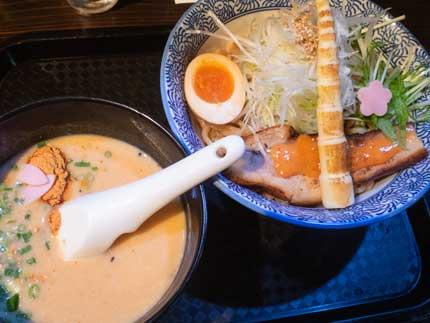 昭和つけ麺酒粕ポタージュ