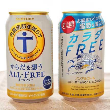 脂肪を減らすノンアルコールビール