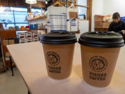 1杯300円税込のコーヒー