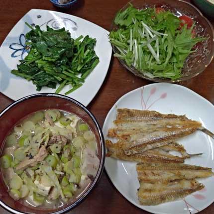5月7日(木)の夕食