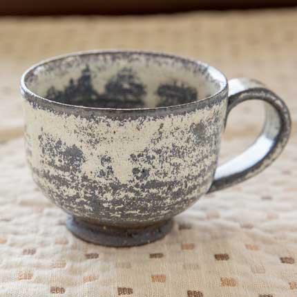手作りコーヒーカップ