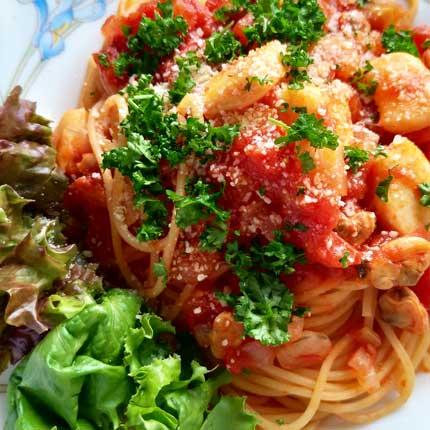 海鮮スパゲティ