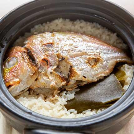 レンコ鯛の鯛飯
