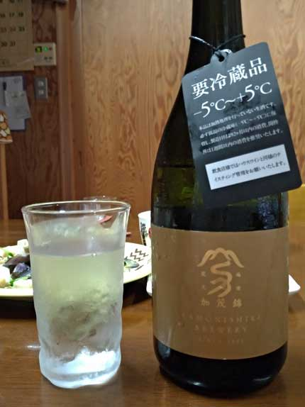 加茂錦純米大吟醸無濾過生原酒