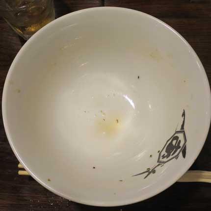 スープまで完食出来ました