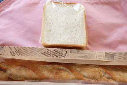食パン半斤120円税別とバゲット240円税別