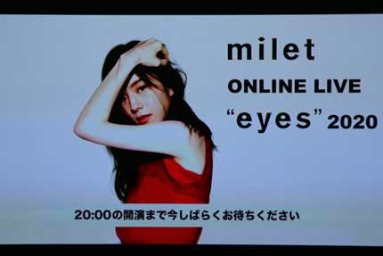 milet ONELINE LIVE