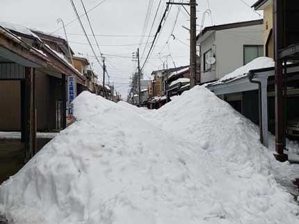 これ位の雪の量