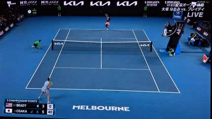 全豪オープンテニス女子決勝
