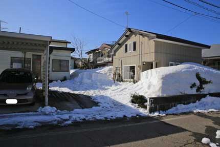 2月28日(日)には、積雪も124cm