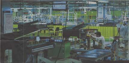 池井戸潤が撮る日本の工場ヤマハピアノ