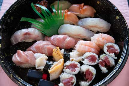 折り詰めお寿司