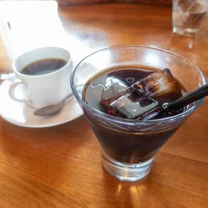 アイスコーヒーとホットコーヒー