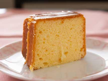形が普通のパウンドケーキ