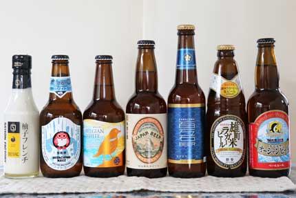 ビールとドレッシング