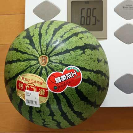 999円税別のスイカ
