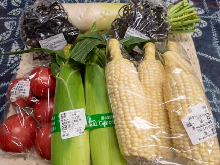 長野県産の新鮮野菜