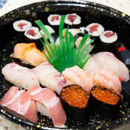 寿し処なかにさんのお寿司