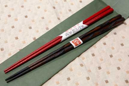輪島塗の箸