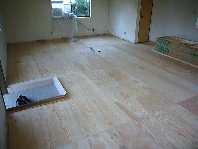 あい企画事務所基礎床板完成