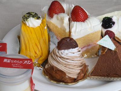 綾子舞の洋菓子
