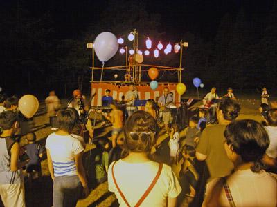 町内盆踊り大会