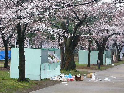 ゴミ散乱20070409