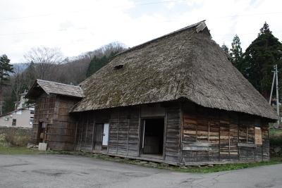 秋山郷保存民家