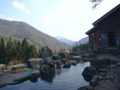 萌木の里の露天風呂