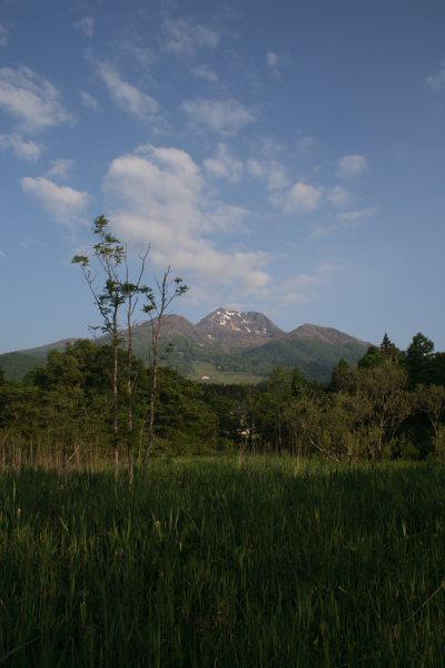 輝く妙高山