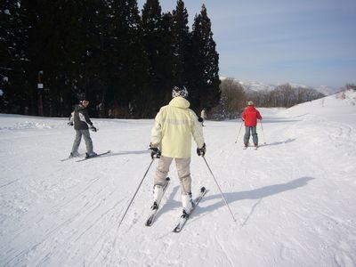 スキーしたいよ