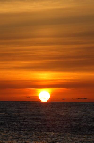 日本海へ沈む夕日20070528